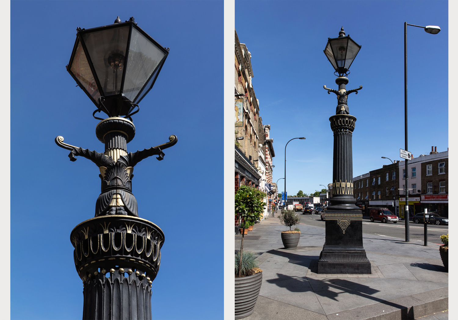 Old Kent Road Gas Lamp – Image by Alexander Christie-2