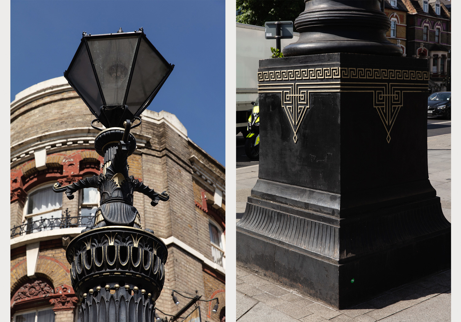 Old Kent Road Gas Lamp – Image by Alexander Christie-3
