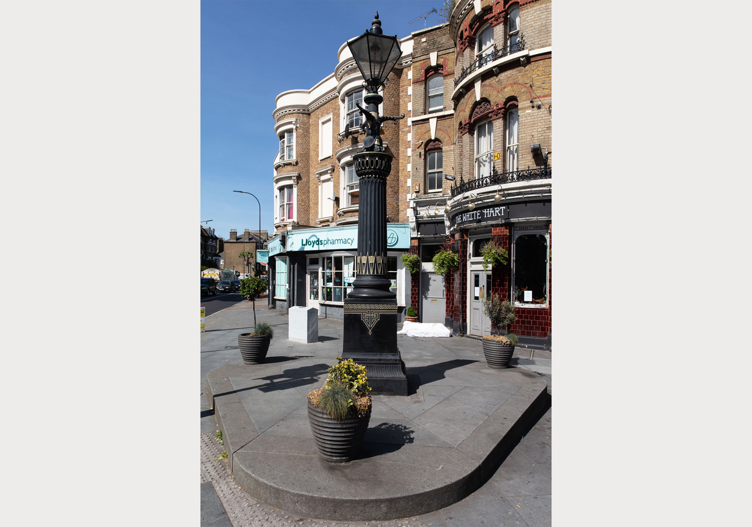 Old Kent Road Gas Lamp – Image by Alexander Christie-4